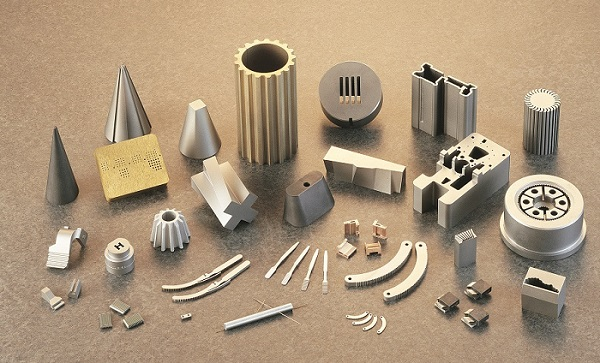 CNC machine metal parts custom fabricated by XACT Wire EDM